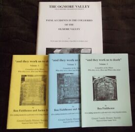 Bundle of 4 Welsh mining history / disasters books - £5 the lot for quick sale (Lot #07)