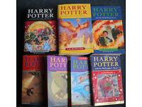 Harry Potter - all 7 books