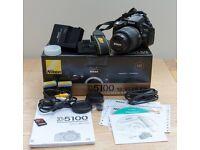Nikon D5100 DSLR with Nikon 18-55mm AF-S G VR Kit Lens £235 ono