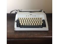 Cream Typewriter