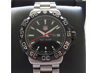 Tag Heuer F1 Formula 1 Gents Watch Black WAH1110