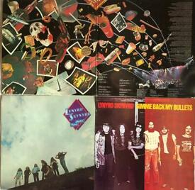 Used Vinyls: 3 Lynyrd Skynyrd Albums (4LPs)
