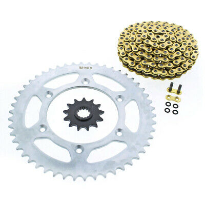 2000 2001 2002 KTM 520 EXC 520 CZ ORHG Gold X Ring Chain and Sprocket 13/50 120L