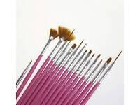 Cosmetic nail art polish 15 pieces