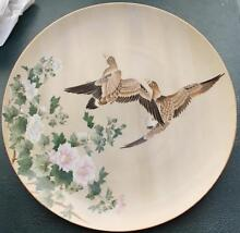 Flyig Ducks made by Royal SAJI -Japan Fine China.26.5cm of Diamet Granville Parramatta Area Preview