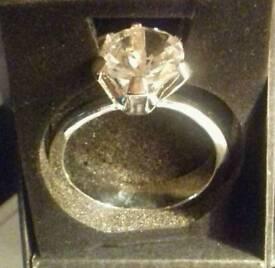 Giant Diamond Ring Ornament/Keyring.