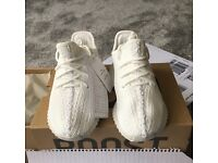 Adidas yeezy boost v2 cream white infant 9.5 brand new