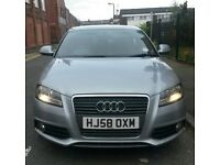 A3 S-LINE 2.0 TDI 144000 MILES 10 MONTHS MOT 2 KEYS CAMBELT AND WATERPUMP DONE FULL SERVICE HISTORY