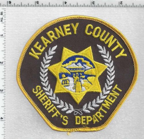 Kearney County Sheriff (Nebraska) 2nd Issue Shoulder Patch