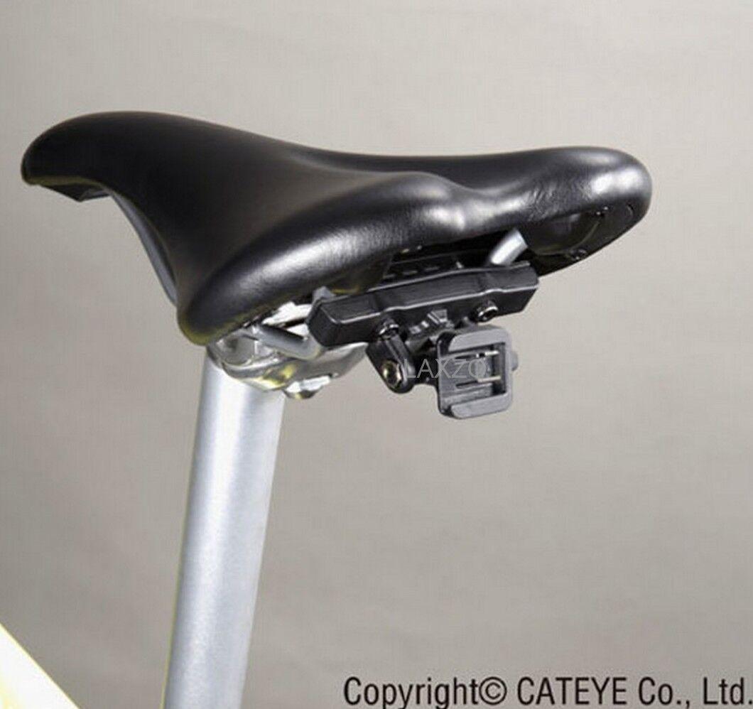d2f24671cbd Cateye RM-1 Rear Saddle Seat Rail Mount Bracket Black Bicycle Bike ...