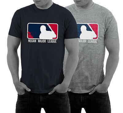 Negan Major League T-Shirt Satire Walking Dead Lucille Fun S - 5XL WOW