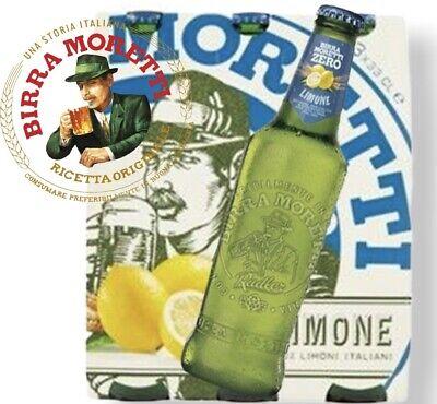 Birra MORETTI Verano Ciclista Limón CL.33 X 12 Botellas Cerveza 2% Alk