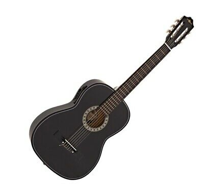 Black Electro Acoustic Guitar, by Gear4music BRAND NEW IN BOX WITH EXTRA STRINGS