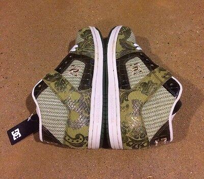 DC Manteca 2 Mid Special Edition Woman's Size 6.5 BMX Skate Shoes Rare Sneakers Womens Manteca 2 Shoe