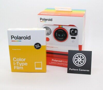 Polaroid Now i‑Type Red Instant Camera + 2-lens system with new film - BNIB