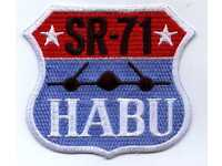 "Air Force SR-71 HABU Patch 4/"" x 3.75/"" DS8943"