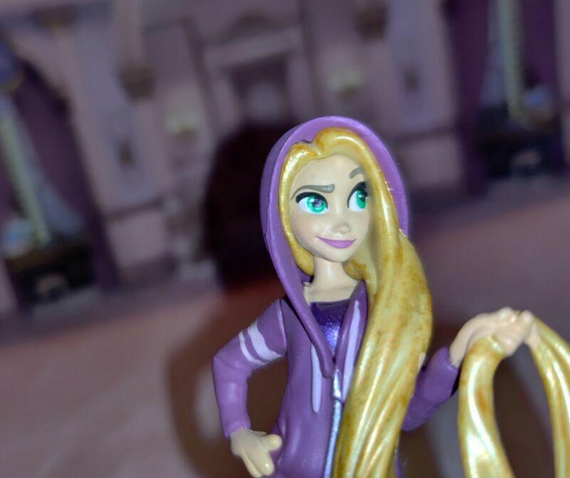Rapunzel Casual Princess Figure Cake Topper Disney Store Ralph Breaks Internet