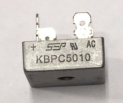 Bridge Rectifier 1ph 50a 1000v 50 Amp Metal Case 1000 Volt 50a Diode 1pc