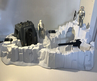 """VINTAGE STAR WARS """" HOTH  IMPERIAL ATTACK BASE  PLAYSET COMPLETE"""