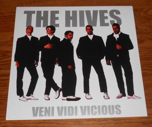 The Hives Veni Vidi Vicious Poster 2-Sided Flat Square 2002 Promo 12x12