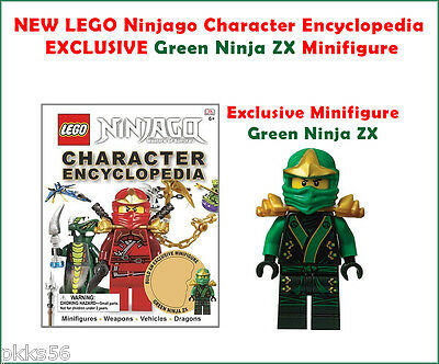 LEGO Ninjago Character Encyclopedia EXCLUSIVE Green Ninja ZX Minifigure