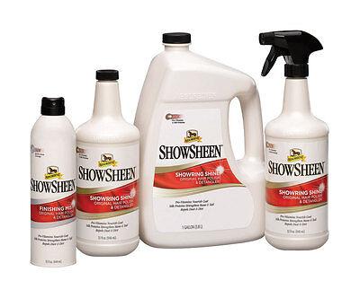 Absorbine SHOWSHEEN Show Sheen Shine Original Hair Polish and Detangler Spray Absorbine Showsheen Hair Polish