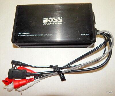 Boss Audio Systems 500 Watt 4-Channel Amplifier System MC900B