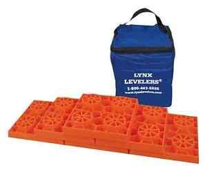 Lynx Levelers Leveling Kit 10 Pack RV Leveling System RV Leveling Blocks Pyramid