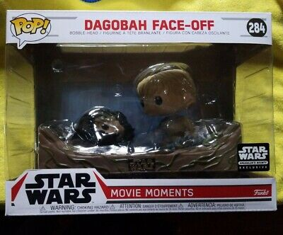 Funko POP! Star Wars Movie Moments #284 Dagobah Face Off box Mint Box