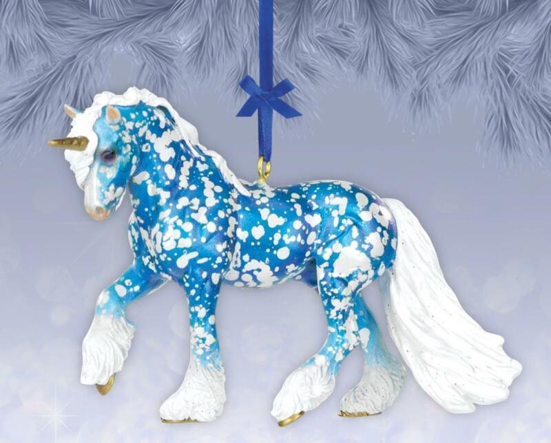 New Breyer 2021 Holiday Collection - Eira - Unicorn Ornament - 700720