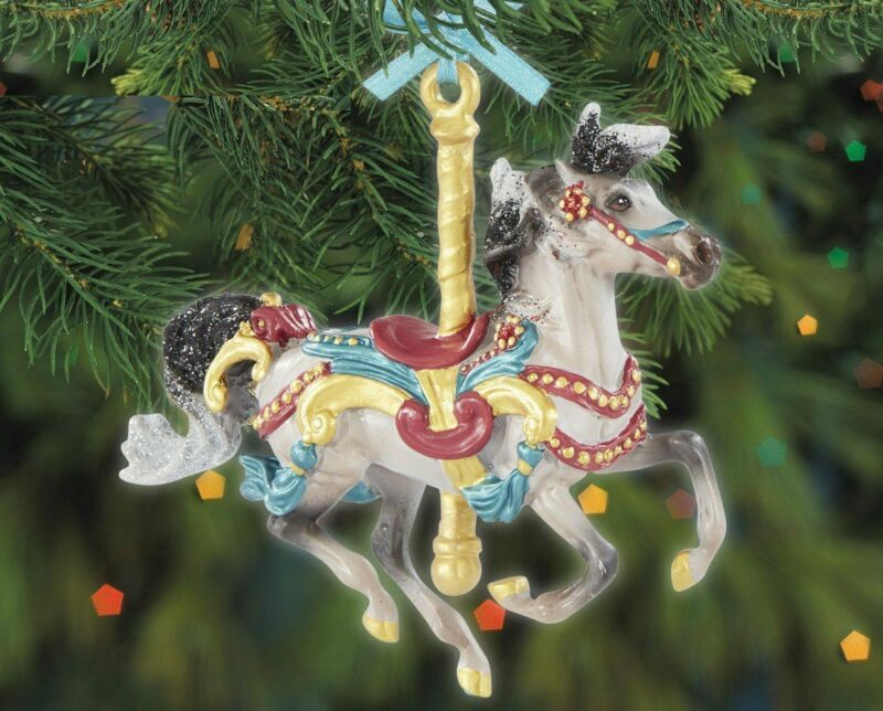 Breyer Horses - Flourish Carousel Ornament for the Holidays 2020