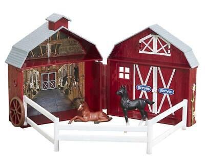 Breyer Stablemate Friendship Foals Pocket Barn #5343 RETIRED