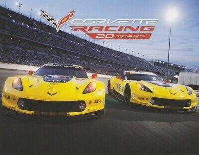 2013 Corvette Racing C6.R ZR1 GT ALMS postcard