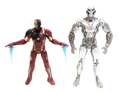 Marvel Legends IRON MAN from Civil War 3-Pack & The Avengers Age of ULTRON BAF