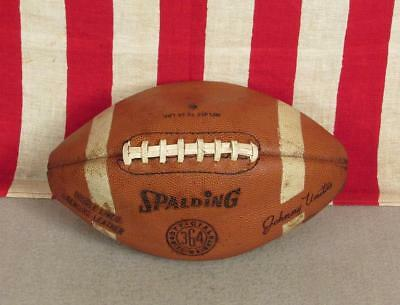 Spalding TF-SB1 Leather NFHS High School Varsity Football NEW BLEMISHED