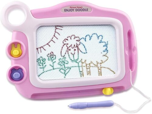 Kids Cute Magnetic Drawing Board Writing Tablet Portable Erasable Doodle Message