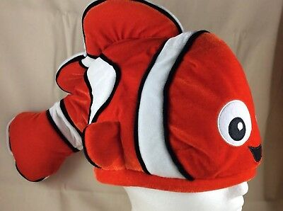 Disney Nemo Clown Fish Hat Halloween Adjustable - Halloween Clown Fish