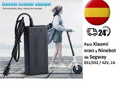 Cargador de Patinete Eléctrico Xiaomi Mijia M365 y Ninebot ES1/ES2/2S3/ES4 42V