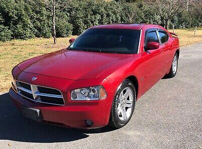 2006 Dodge Charger  2006 4 door Red Dodge Charger 5.7 L V8 Hemi