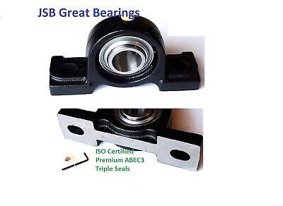 Ucp205-16 Pillow Block Bearings Premium Solid Base Triple Seals Abec3 1 Bore Uc