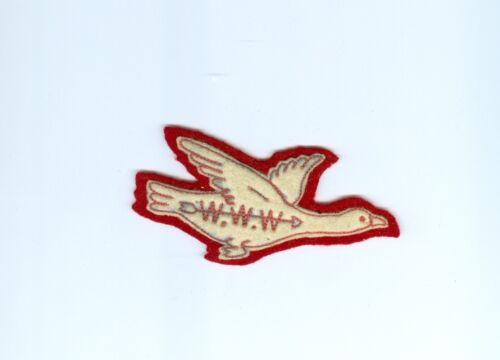 "OA  Lodge 22 X1b WAB no  period after last ""W"" early 1950"