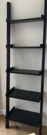 Wall mounted 5 tier wall shelf, bookcase, bathroom rack