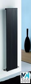 405 x 1800 Kintonic Designer Vertical Radiator. Various colours