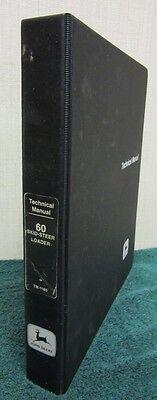 I 1981 John Deere 60 Skid-steer Loader Technical Manual Tm-1185
