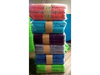 4 x big bath sheets at an amazing price just £10