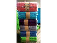 4 x big bath sheets £10