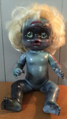 Baby Zombie Doll Ooak Scary Halloween Prop Decoration