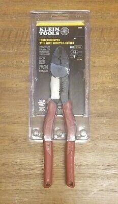 Klein Tool Forged Steel Wire Crimper Cutter Stripper