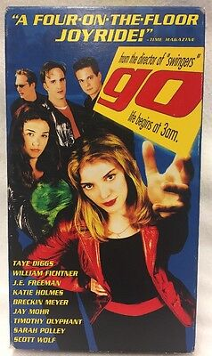Go   Taye Diggs  Katie Holmes    100S Of Vhs In Store  Rare   Oop