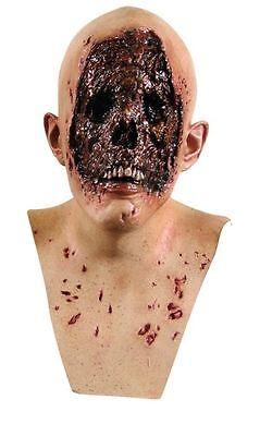 hommes Evil Face Tête et cou latex zombie halloween horreur film déguisement (Halloween Horreur Film)